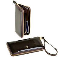 Большой кошелек женский на молнии Bretton Gold W38 brown
