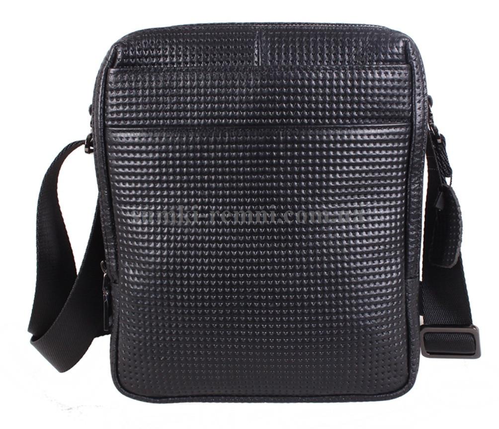 Мужская кожаная сумка DL8080-6 черная