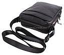 Мужская кожаная сумка DL8080-6 черная, фото 7