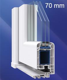 Дверная система 70 мм