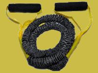 Эспандер для фитнеса в тканевом защитном рукаве 7 кг (латекс)