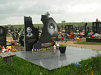 Мемориальный комплекс из гранита П - ЭМК 86