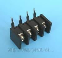 Клеммник 4 контакта на плату, прямой угол (ETB5107204 )