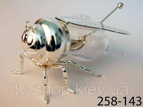 Банка для меда Пчелка (без ложки)