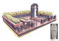 Мемориальный комплекс из гранита П - ЭМК 88