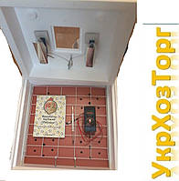 """Инкубатор """"Рябушка-2"""" 40 яиц,автоматический переворот,литой корпус,цифровой терморегулятор."""
