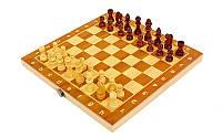 Шахматы-шашки-нарды 3 в 1 деревянные 24 х 24 см
