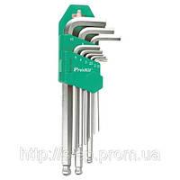 Набор шестигранных ключей с шариком HW-129B Pro'sKit