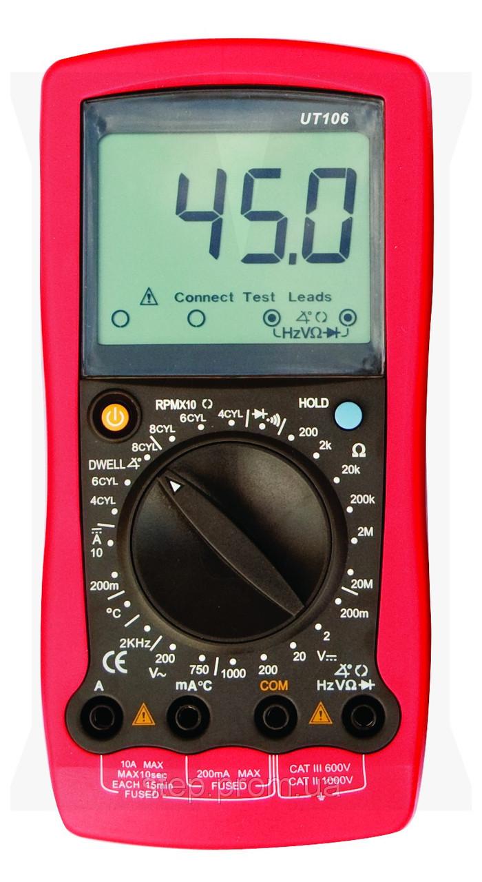 Цифровой автомобильный мультиметр UNI-T UTM 1106 (UT106)