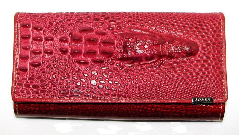 2296116eba8a Кожаный женский кошелек бренд оригинал Loren Польша - Интернет-магазин
