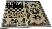 Шахматы шашки нарды 3 в 1 доска 3-слойная 42 х 40 см