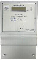 "Счетчик электроэнергии CTK3-10 A1H7P.t ""Энергия-9"", 5 (60) А 3ф 3х220 / 380В, (+ А) кл.точн.1 электр. прям.вкл. многотариф, Телекарт"