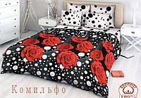"""Комплект постельного белья  2-х  спальный бязь """"Комильфо"""" (кп2б)"""