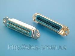 Роз'єм CENS-36F — розетка 36 контактів для пайки на кабель