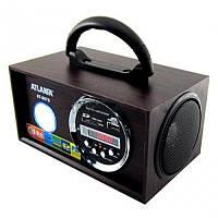 Портативная акустика радиоприемник ATLANFA AT-8976 со встроеным акумулятором. Хорошее качество.  Код: КГ417