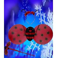 Карнавальные крылья,крылья божьей коровки круглый, купить оптом и розницей,MK 1408 KRK-0003
