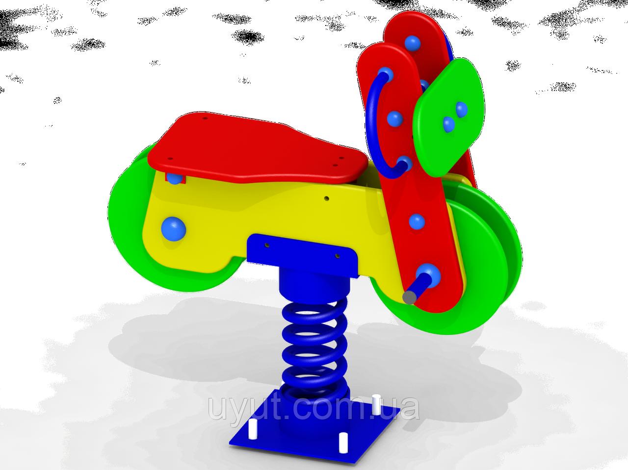 "Качалка на пружине ""Мотоцикл"" K29"
