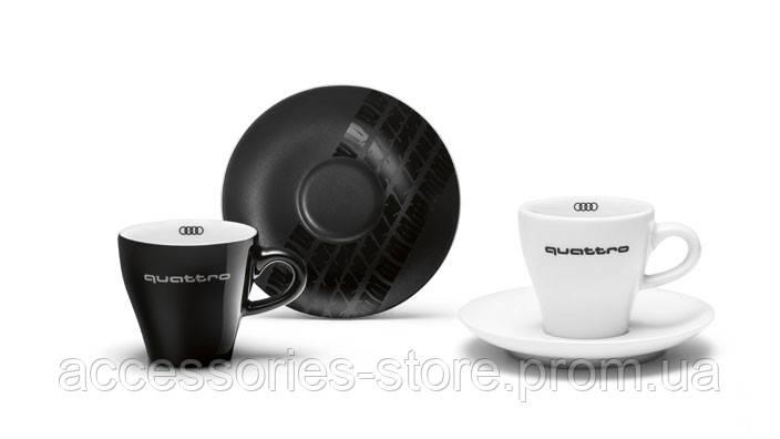 Набор чашек для эспрессо Audi Espresso Cups Set, quattro