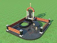 Мемориальный комплекс из гранита П - ЭМК 97
