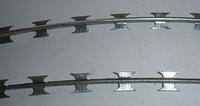 Колючая проволока 2,5 мм в одну нить 188,4 м.