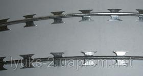 Колючая проволока 2,2 мм в одну нить 188,4 м