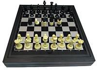 Шахматы и шашки магнитные 2 в 1 30 х 30 см