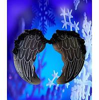 Карнавальные крылья,ангела черные, купить оптом и розницей,MK 1408 KRK-0008