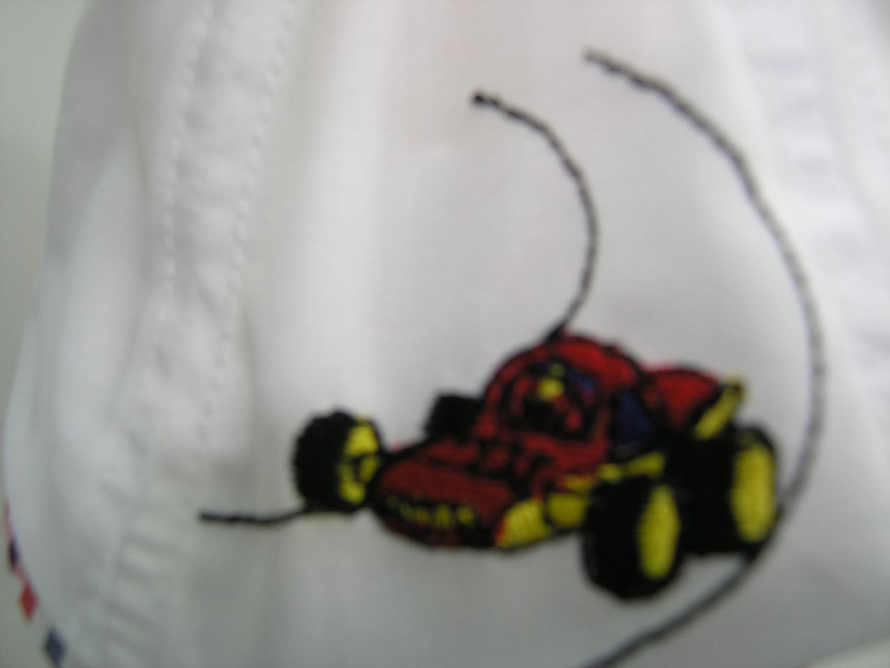 Кепка детская восьмиклинка - машинка