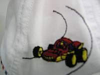 Кепка детская восьмиклинка - машинка, фото 1
