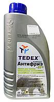 Антифриз TEDEX Antifreeze -37°С (синий) 1л