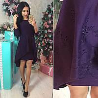 Платье с двойной юбкой (арт. 490536591)