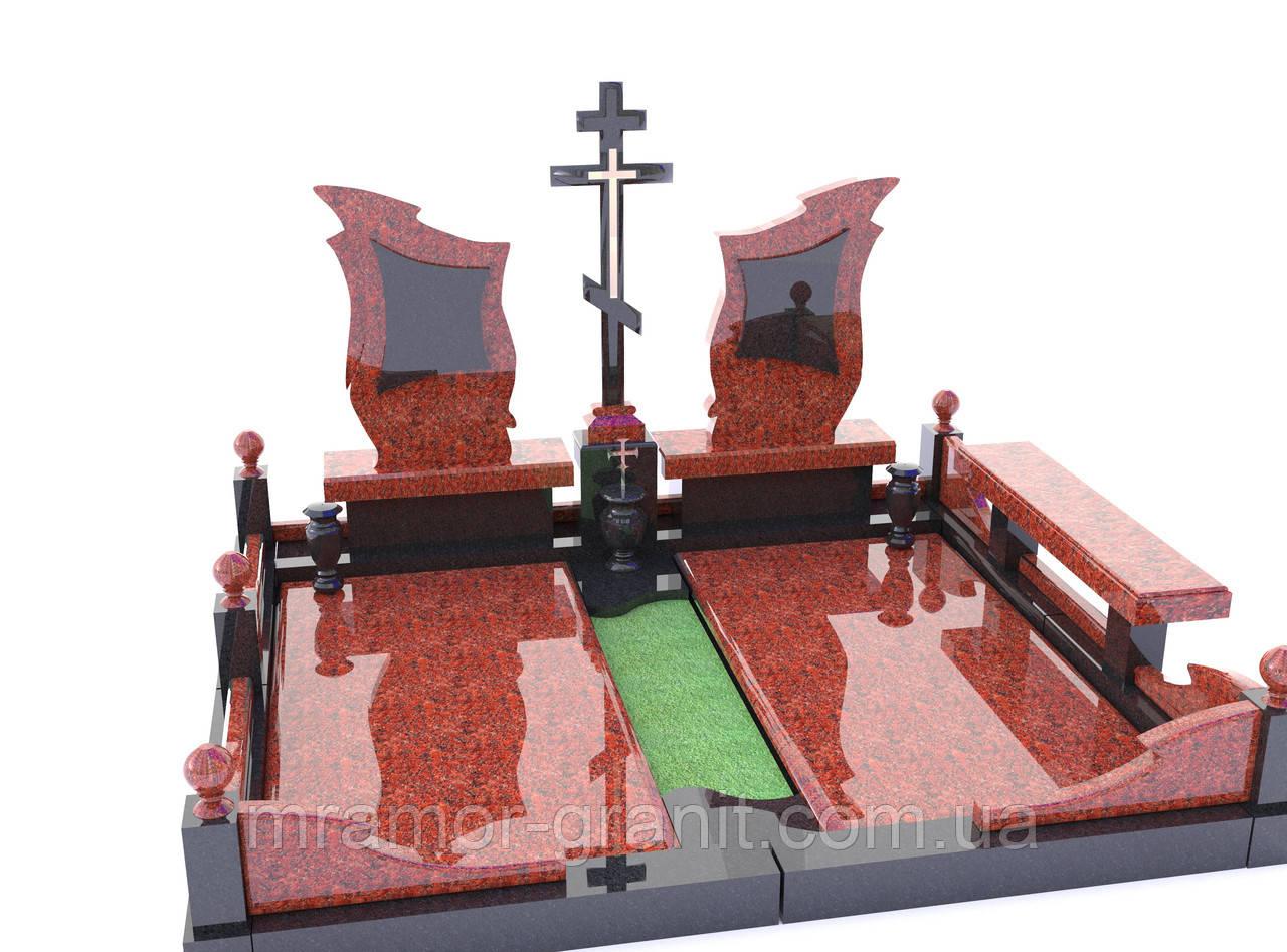Мемориальный комплекс из гранита П - ЭМК 101