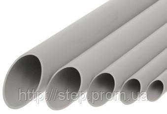 Труба гладкая ПВХ d=25мм (электроустановочная)
