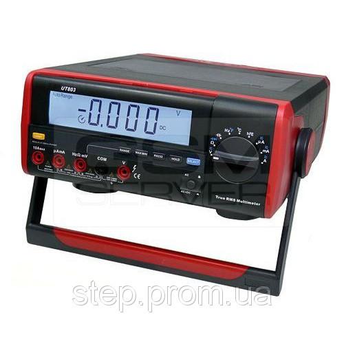 Цифровой настольный мультиметр UNI-T UTM 1803 (UT803)