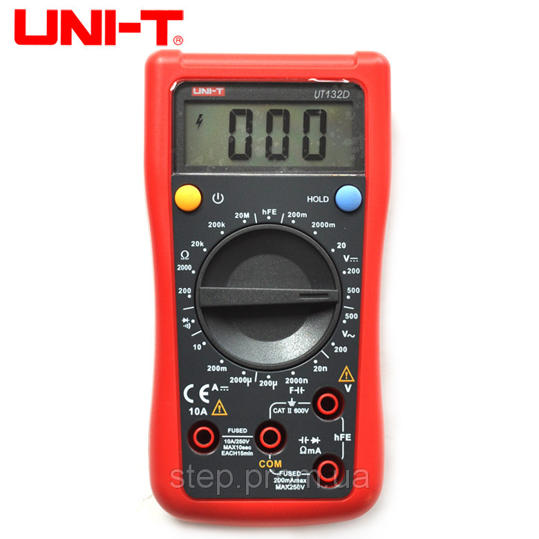 Цифровой мультиметр UNI-T UTМ 1132D (UT132D)