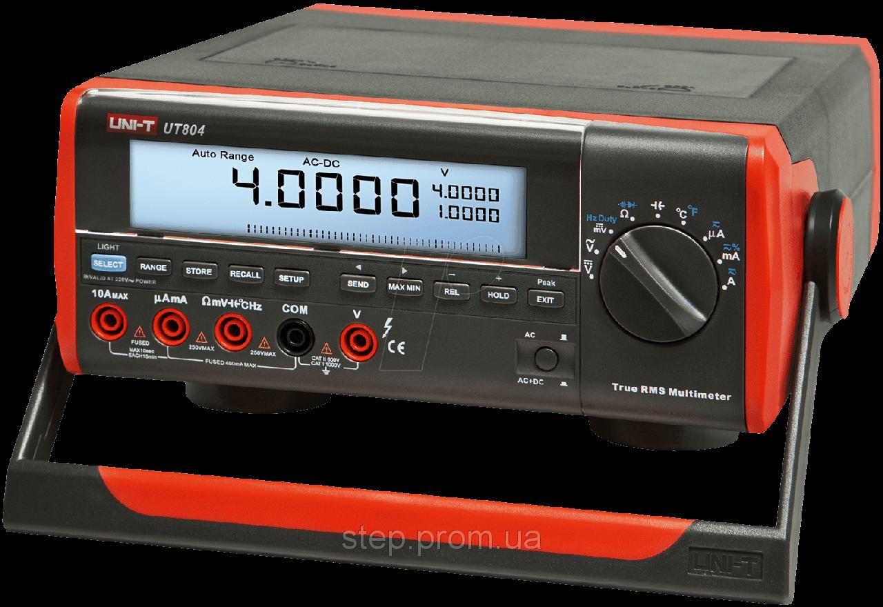 Настольный цифровой мультиметр UNI-T UTM 1804 (UT804)