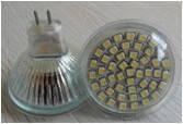 Светодиодная лампа MR16, 30 светодиодов, белая (холодная)