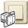 Светорегулятор кнопочный 40-600W (слон. кость)