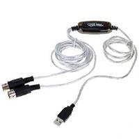 MIDI интерфейс кабель USB ПК