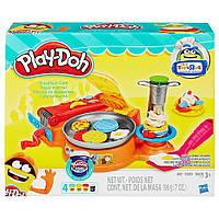 Игровой набор Плей До Завтрак в кафе (B3249) Play-Doh Breakfast Cafe, фото 1