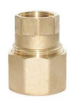 Зажимное соединение GEBO 21 мм 1/2 вн. (ЛАТУНЬ)