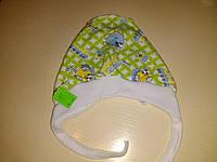 Чепчик для новорожденного, хлопок, размер 24