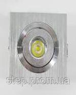 Точечный светодиодный светильник 1 W
