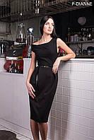 Платье женское, черное, мультисезон P-DIANNE №3