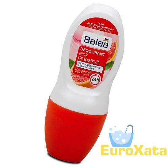 Дезодорант шариковый BALEA Deo Roll-on Pink Grapefruit  (50мл)