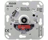Роторный диммер 60-600W Jung 266 GDE механизм