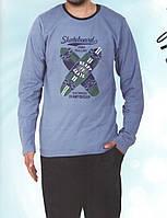 Пижама мужская со штанами Скейтборд