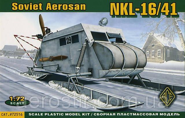Soviet Aerosan NKL-16/41