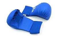 Накладки для каратэ Daedo (полиуретан) синие L