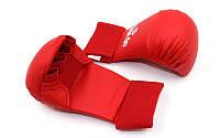 Накладки для каратэ Daedo (полиуретан) красные S
